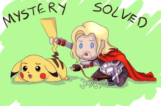 Go ahead Thor... by JennyJinya