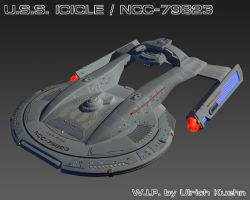 USS ICICLE / NCC-79823 W.I.P.-077 by ulimann644