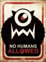 no humans allowed by LACHI17