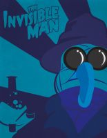 The Invisible Man - Muppet Monsters Poster by Gr8Gonzo
