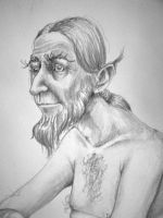 An old fart by Creative-Games