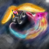 Commission -- Astral Herald by KingGhidorah2007