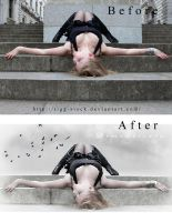before-after Dimenticata by Rafido