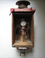 Assemblage: Little Man by bugatha1