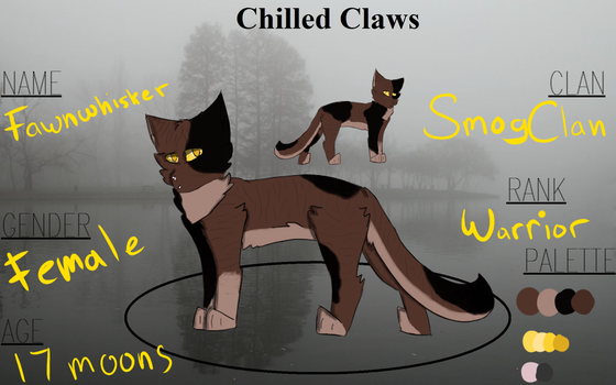 {C-C} Fawnwhisker - Smogclan by 52Thistles