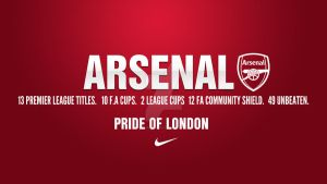 Arsenal FC - The Pride of London by GoonerTillIDie