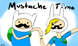 Mustache Time by MultiFlavorPsycho