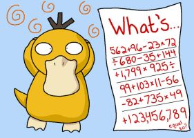 Psyduck Is Confused by anthey925