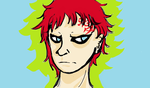 Unhappy Gaara by TheAveragePerson