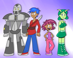 Anime Crew by ScoBionicle99