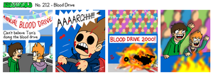EWCOMIC No. 212 - Blood Drive by eddsworld