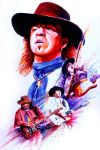 Stevie Ray Vaughan by Kenmeyer by Virtuoso-Guitarists