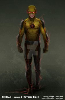 ReverseFlash v2 by AndyPoonDesign