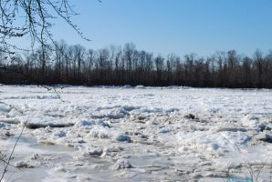 Delaware River Iced by 12jack12
