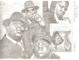 Notorious BIG by eazy101
