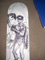 ROBIN skateboard deck 01 by ztenzila