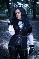 Yennefer cosplay 4 - The Witcher 3 Wild Hunt by AbigailSins