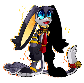Meet Mini, the little mage~! by Cryogenix-I
