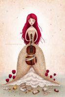 Violin by chuckometti