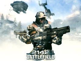 Battlefield 2142 Wallpaper by Namelessdesigns