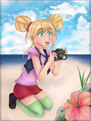 Toady! Along the shore. by purplemusic-B-ox