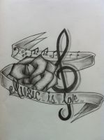 I love music 2 by Evilrj