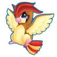 Pidgeotto by Clinkorz
