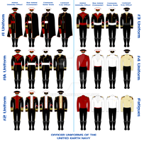 UEN Officers' Uniforms by Leovinas