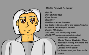 Doctor Brown by sweetkat22