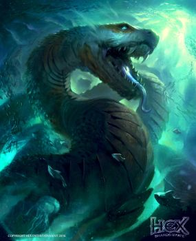 Leviathan - HEX TCG card game by Joel-Lagerwall