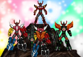 Megazords!!! by blueliberty