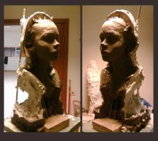 Portrait Sculpture 3 ..failure by avada5
