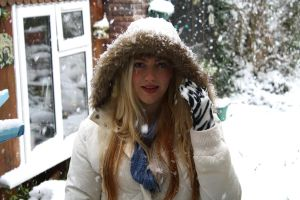 Me In the Snow by Bonniemarie
