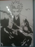 Toshiro Hitsugaya by DeadStarDragon
