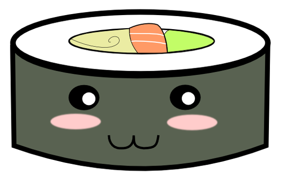 Sushi Kawaii by jorgicio