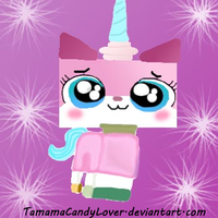 Princess Unikitty by TamamaCandyLover