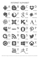 Internet Alphabet 1.0 by NosefU