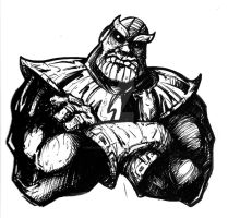 Thanos Ink by inkycharland