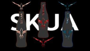 SKUA Bottle Ad by TOAOSpectral