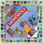 Spyro the Dragon Monopoly by RadSpyro