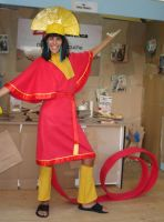Kuzco Cosplay Lucca 2008 by simsim2212