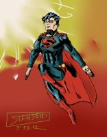 Classic Superman by stinson627