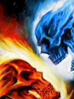 Ghost Rider 29 Cover by WolfMarine
