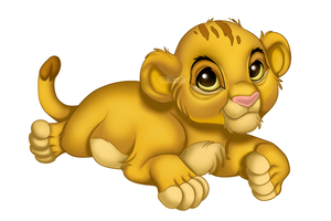 Baby Simba by KashimusPrime