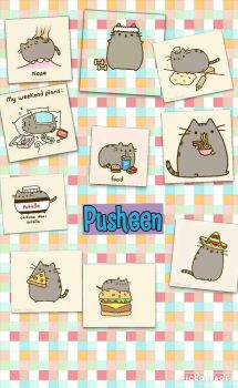 Pusheen by Carolalexandra
