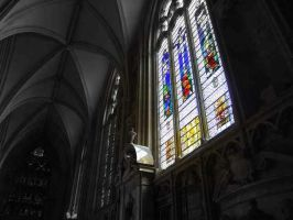Stained glass . by velar1