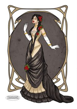 Victorian Dress by LaTaupinette
