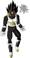 Time Breaker Vegeta by MAD-54