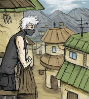 Kakashi's Morning by Scarecrowlover