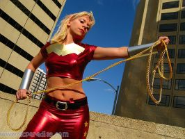 Wonder Girl by Ravenspiritmage